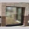 In Wall Glass Fountain