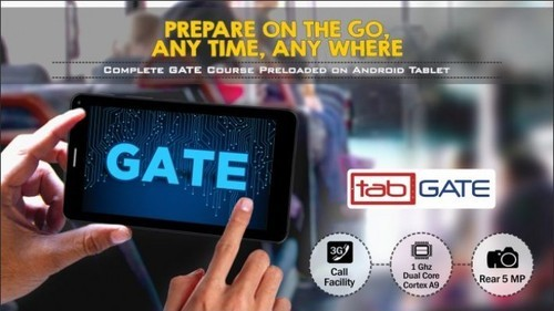 Tab GATE Course, Electronic Learning Solution, ई