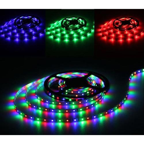 Multi coloured led strip light led strip light sita pura jaipur multi coloured led strip light mozeypictures Images
