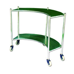 Stainless Steel Curved Trolley