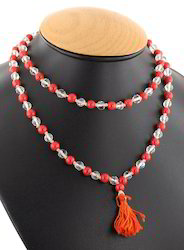 Beads Mala (Natural Coral and Spetic (Sphatic)