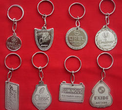 Hydraulic Nickel Key Chain