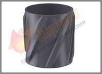 Steel Spiral Vane Solid Rigid Centralizer