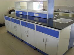 white Metal Laboratory Furniture