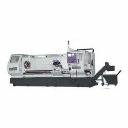 Flat Bed CNC Lathe Machine, Automatic Grade: Automatic