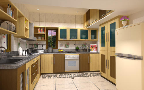 Indian Traditional Kitchen Color Services