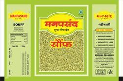 High Quality Fennel Seeds Packaging Pouch