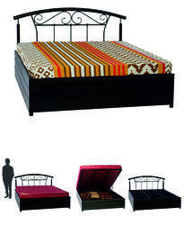 Metal Lift On Storage Queen Size Bed