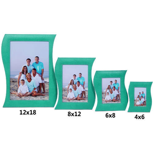 S Shape Photo Frame Customized Picture Frame कसटमइजड