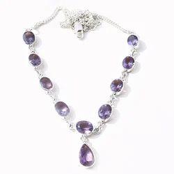 Gemstone 925 Sterling Silver Necklace