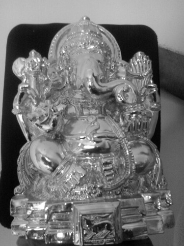 Silver Finished Devotional Idols