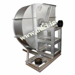 30 Hp 250MMWC Industrial ID Fan, Impeller Size: Dia 1050