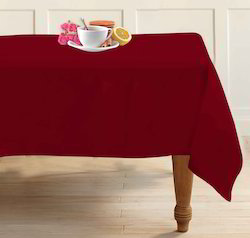 Restaurant Soid Dyeing Table Cloth