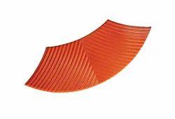Zigzag Palm Leaf Paving Block, Dimensions: 60 Mm, Size: 0.5 Sqft