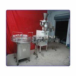Granule Jar Filling Machine