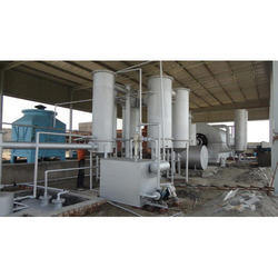 waste tyre recycling oil machine