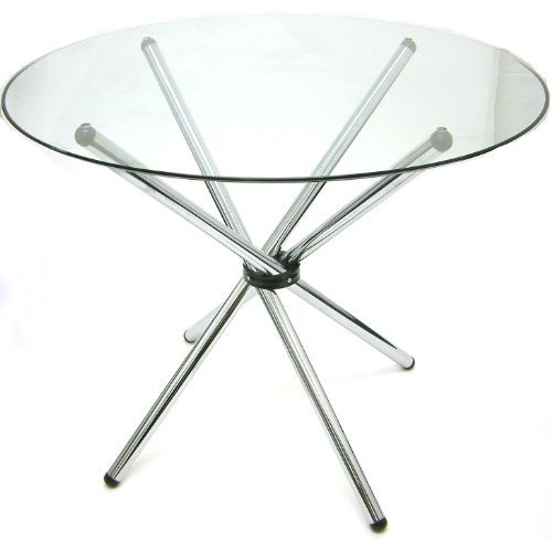 Round Glass Center Table