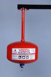 Supremex Mild Steel Modular Automatic Fire Extinguisher, Capacity: 6 Kg