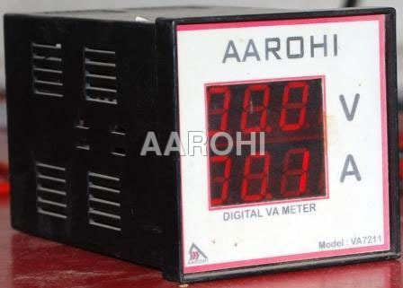 Digital Amp Meter Panel : Digital volt amp meter panel meter rajkot aarohi embedded