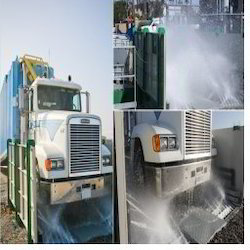 Truck Tyre Wash Plant