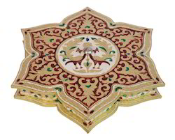 Star Shaped Meenakari Decorative Box