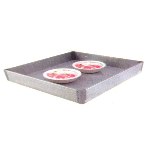 Silver Plain Kitchen Aluminium Basket, Size/Dimension: 22x20x4 Inch