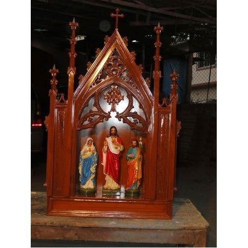 Wooden and Fiber House Altars Manufacturer from Thane
