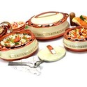 Plastic Insulated Hot Pot Set