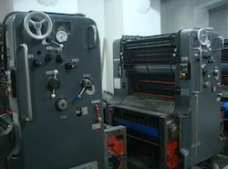 Heidelberg Four Color Offset Printing Machine