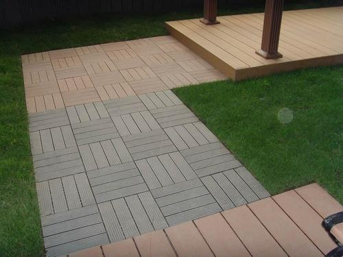 Gentil WPC Garden Tiles
