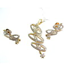 Ladies Diamond Necklace Sets