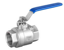 Our Two Piece Ball Valve