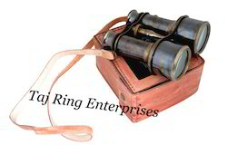 Antique Binocular With Case