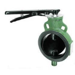 Zoloto Cast Iron Wafer Type Butterfly Valve