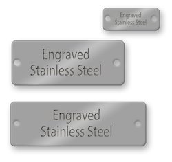 Stainless Steel Metal Labels