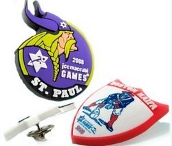 Soft PVC Badges