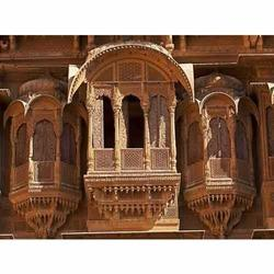 Carved Jharokha