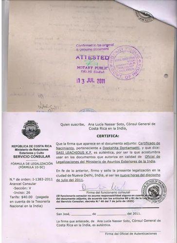 Denmark birth certificate attestation from delhi in andheri west denmark birth certificate attestation from delhi yadclub Gallery