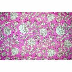 Hand Block Designer Printed Cotton Fabric