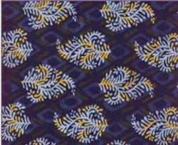 Indigo Dabu Fabric