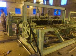 Large Crimped Weaving Wire Mesh Machine