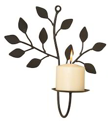 Decorative Candle Sconce