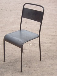 Iron Stacking Chair