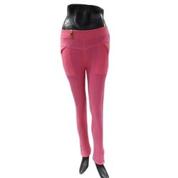 Ladies Pink Jeggings