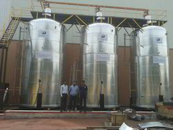High Capacity Oil Storage Tank