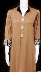 Long Silk Cotton Kurti Stitching Service