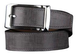 Stitched Men's Leather Belt
