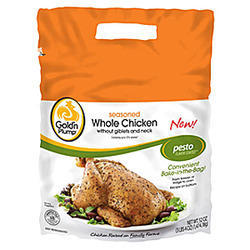 Refrigerated Chicken Packaging Pouch