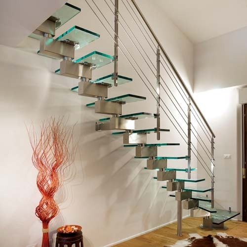 Great New Model Glass Staircase