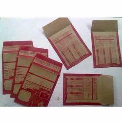 Khaki Color Lab Envelopes